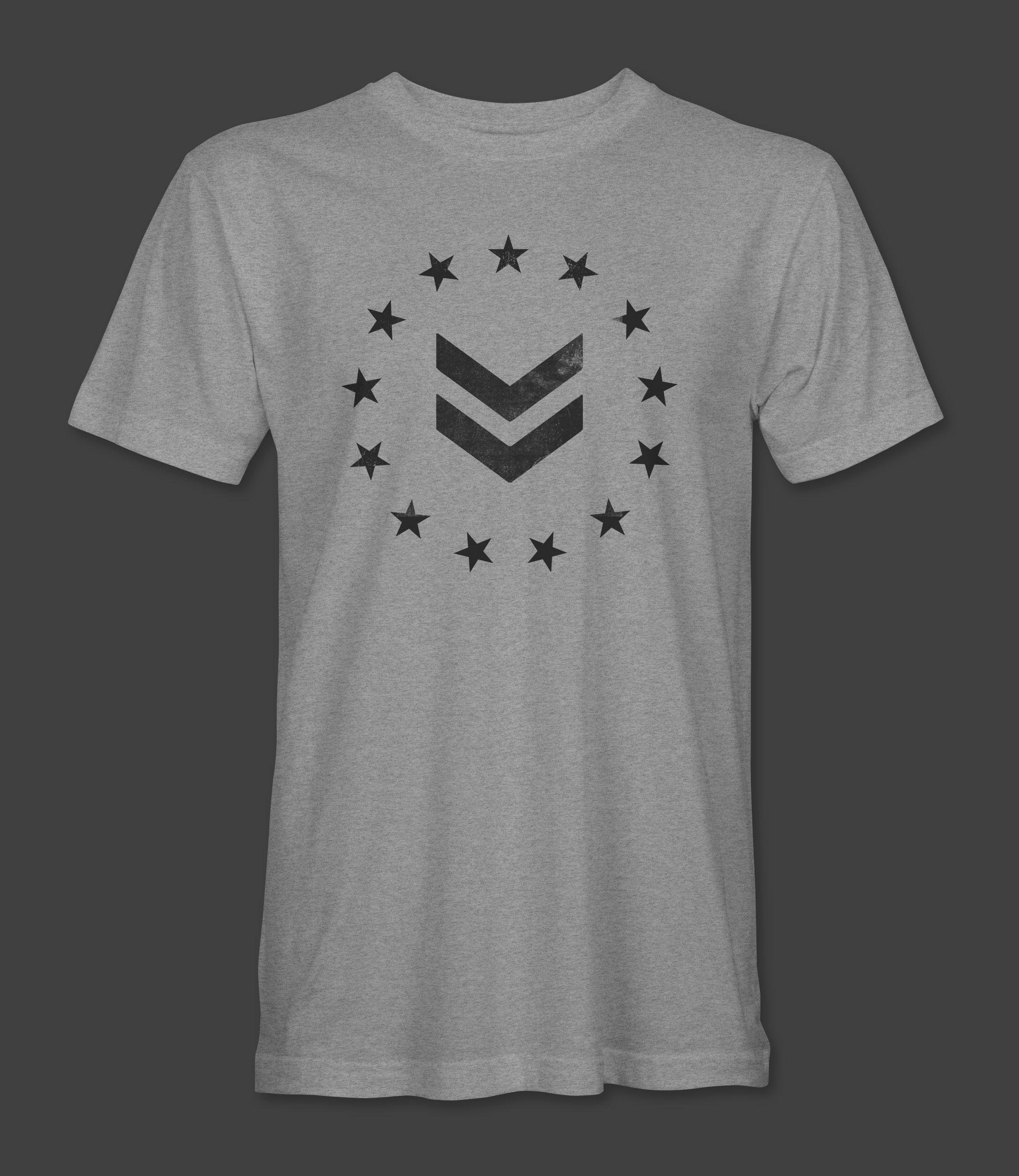 13 Stars T-Shirt - Grey