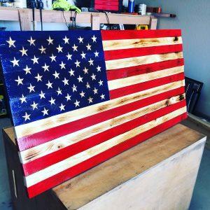 Custom American Flag