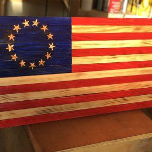 Betsy Ross Handmade Flag